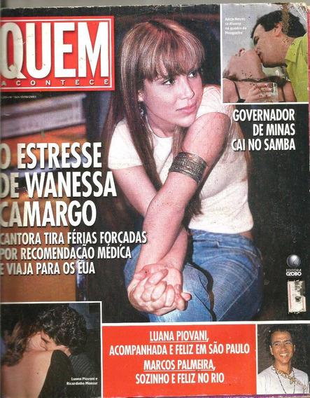 Revista Quem 162/03 - Wanessa/cleo Pires/sabatella