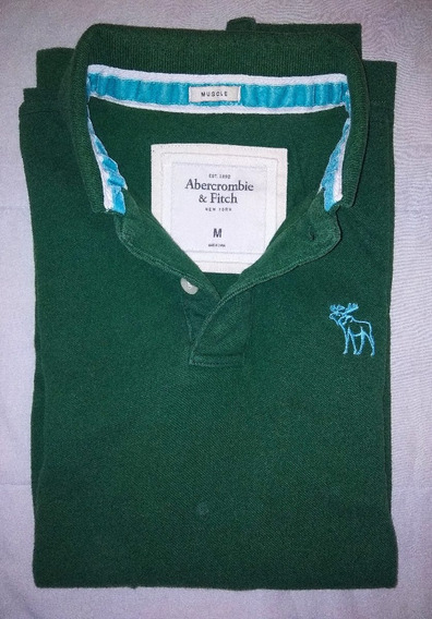 Remera Polo Abercrombie & Fitch -talle M