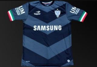 Camiseta Arquero Vélez Sarsfield Nueva Negra Gris Topper