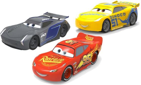 Cars Autos Pullbacks 13cm 7115 X3 Disney