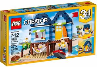 Lego 31063 Creator Vacaciones Casa De Playa Playking