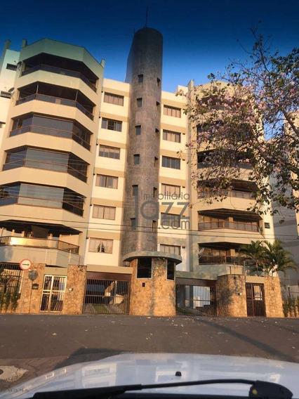 Apartamento Aconchegante Com 3 Dormitórios À Venda, 153 M² Por R$ 800.000 - Jardim Bela Vista - Valinhos/sp - Ap2139