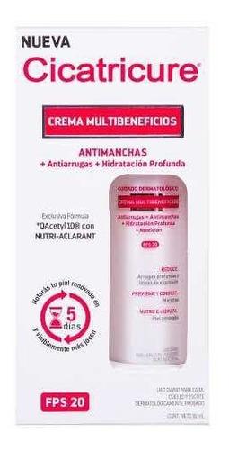 Imagen 1 de 2 de Cicatricure Crema Multibeneficios Antimanchas Arrugas Fps 20
