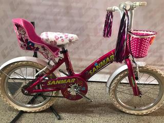 Bicicletas Rodado 16 Aluminio Nena Full