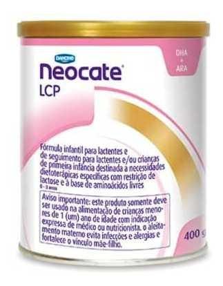 Leite Neocate Lcp 4 Unidades Produto Original