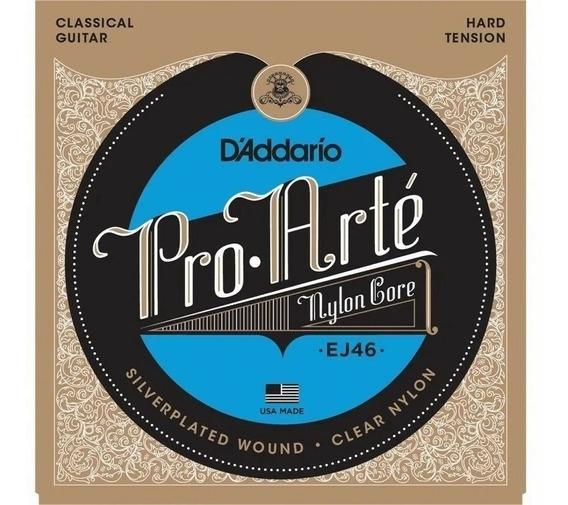 Encordoamento Daddário Pro-arte Classic Hard Ej46 Violão