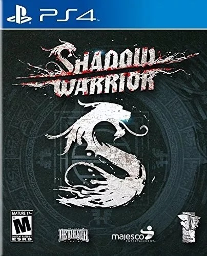 Shadow Warrior Ps4 Midia Fisica Novo Lacrado