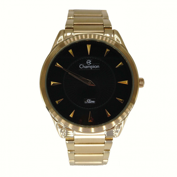 Relógio Champion Unissex Dourado Slim