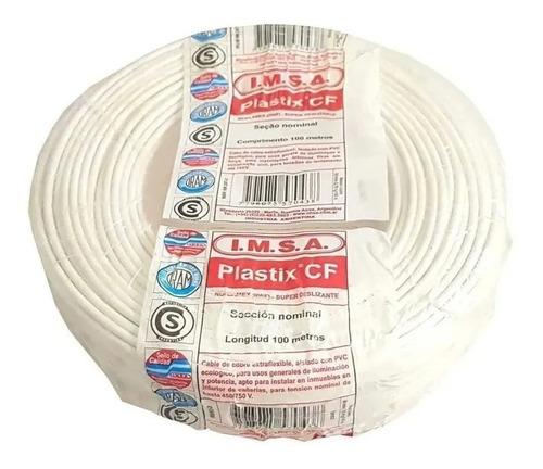 Cable Unipolar 2,5 Mm2 Rollo 100 Metros Imsa Plastix Cf
