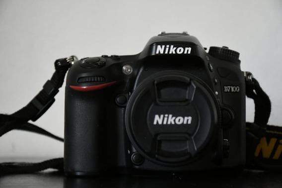 Camara Reflex Nikon 7100 + Lente 18-55 De Regalo