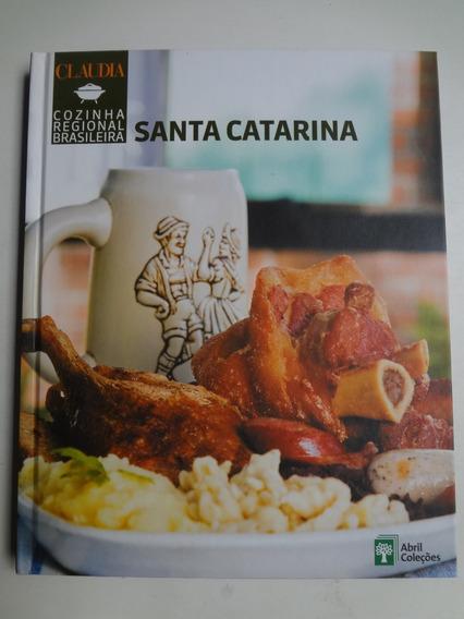 Livro Cozinha Regional Brasileira Santa Catarina