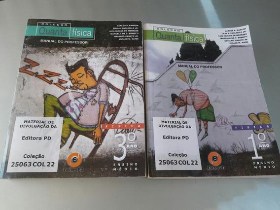 Dois Livros Manual Do Professor Física..