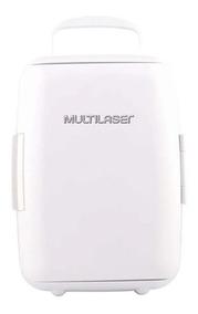 Mini Geladeira 6l 12v 127v 4 Garrafas De 600ml Branco Tv011
