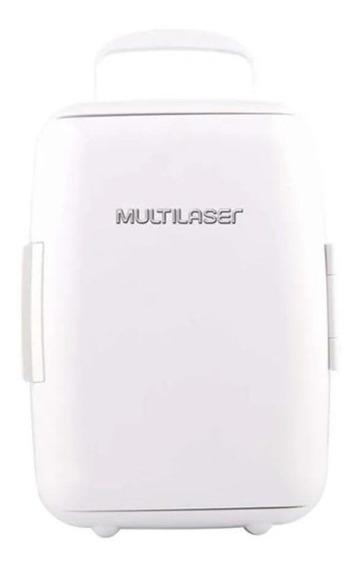 Mini Geladeira Multilaser 6l 12v 127v Branca 4x600ml Tv011