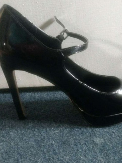 Zapatos Forever 21 Negros Charol