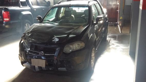 Fiat Strada Adventure Doble Cabina Chocada