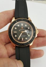 Relógio Rolex Mod. Yacht Master Gold 42mm - 12 X Sem Juros