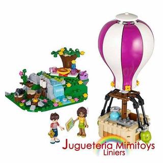 Bloques Heartlake Hot Air Ballon Coleccion Friend Lego 41097