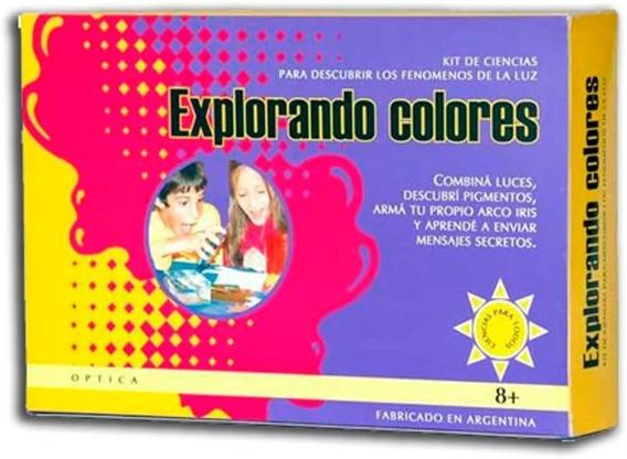 Kit Explorando Colores Descubrí Fenomenos De La Luz Ciencias