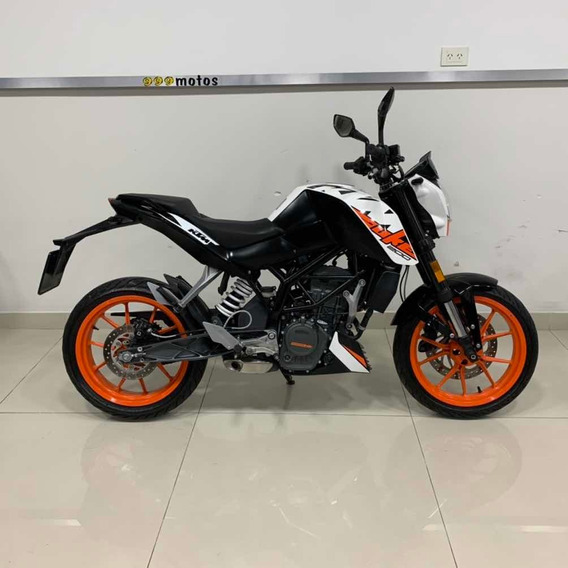 Ktm 200 Duke Nacked Usada 2017