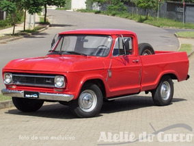 V E N D I D A - Chevrolet C-10 76 Ateliê Do Carro