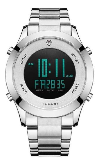 Relógio Masculino Tuguir Esportivo Digital Original Garantia