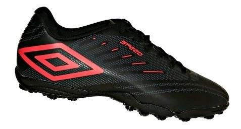 Chuteira Umbro Society Soccer Shoes Speed Iv 907745 Preto
