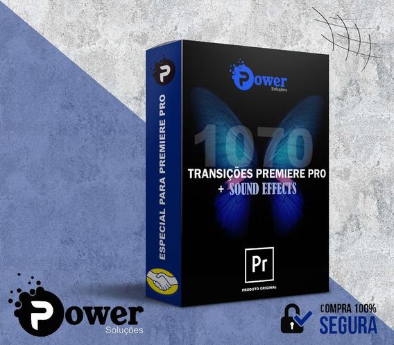 1070+ Transições P/ Premiere Pro - Lançamento 2020 + Bônus