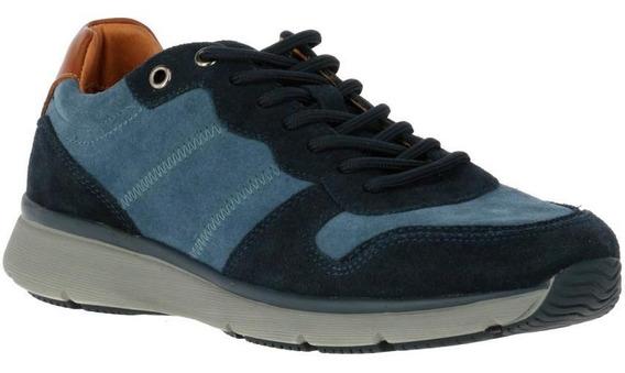 Zapatos Hombre Hush Puppies Bold Navy Blue Move
