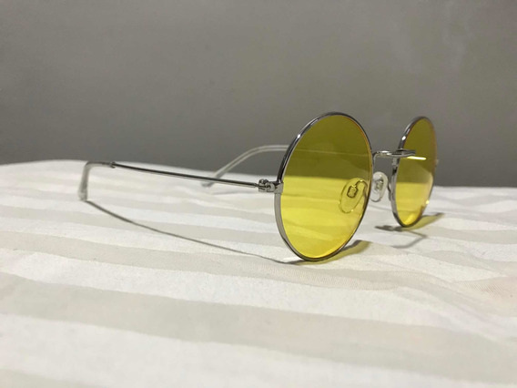 Gafas Redondas Amarillas