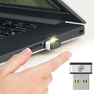 Mini Lector De Huellas Digitales Usb Para Windows 7,8 Y 1...