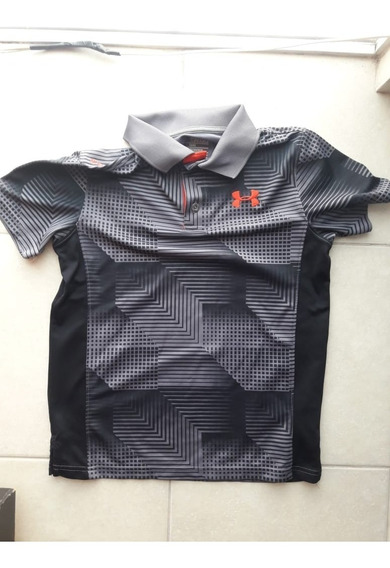 Polo Under Armour Original Usada Niño
