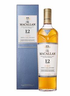 Whisky The Macallan Fine Oak, 12 Años Bot 700ml Estampillada