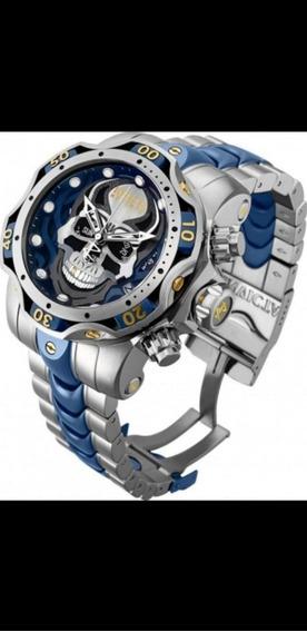 Relógio Invicta Venom Caveira Modelo N° 30351 Top De Linha
