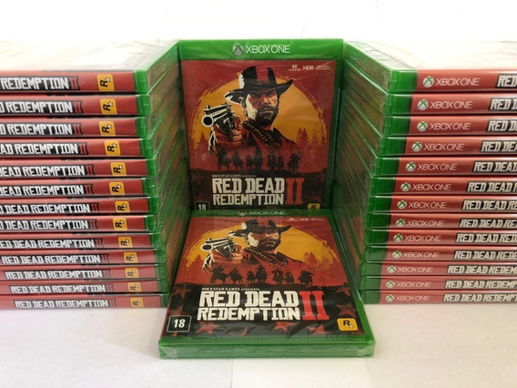 Red Dead Redemption 2 Xbox One Mídia Lacrado Envio Imediato