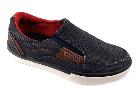 Zapato Sorpaso Varon Sound 28 Al 37 Simil Jeans