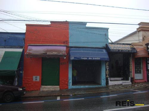 Imagem 1 de 1 de Salão Para Alugar, 12 M² Por R$ 600,00/mês - Centro - Sorocaba/sp - Sl0028