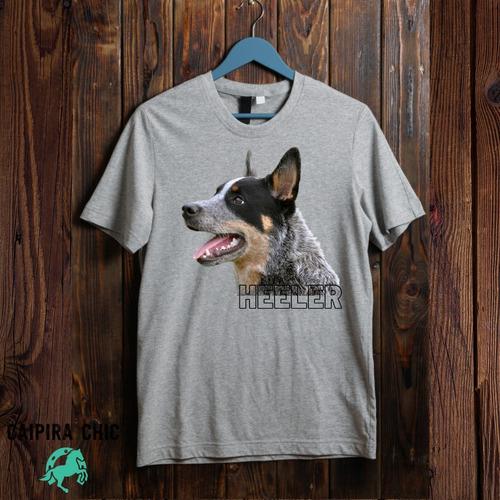 Imagem 1 de 4 de Camiseta Blue Heeler, Caipira Chic