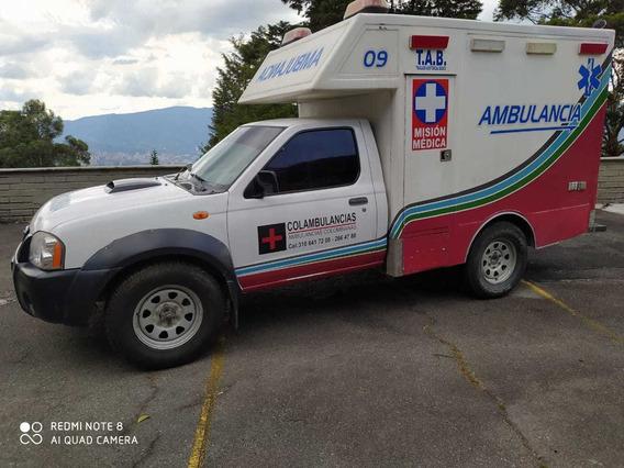 Ambulancia Medicalizada O Basica Nissan Fronteir 4x4 Diesel