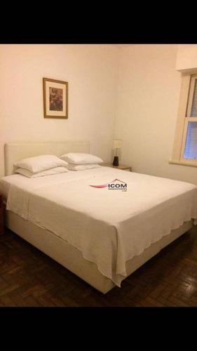 Imagem 1 de 7 de Apartamento, 70 M² - Venda Por R$ 890.000,00 Ou Aluguel Por R$ 3.500,00 - Ipanema - Rio De Janeiro/rj - Ap5219