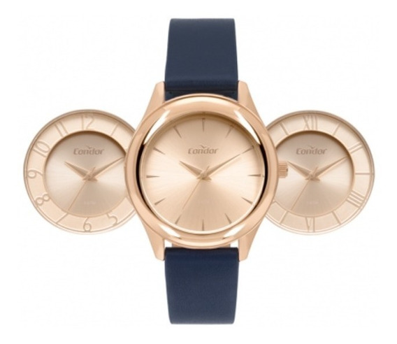 Relógio Condor Shake Feminino Rose Co2035mqn/t2j