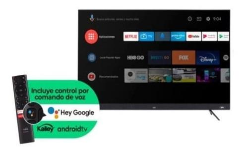 Imagen 1 de 10 de Televisor Kalley 50 Pulgadas K-atv50uhds Spk Led 4k Android