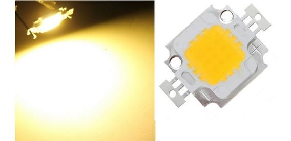 Kit Led Chip 10w Branco Quente 12v 20 Unidades