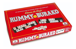 Juego De Mesa Rummy Burako Envio Full (2072)
