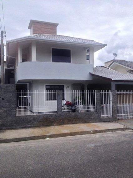 Sobrado Em São Sebastião, Palhoça/sc De 136m² 3 Quartos À Venda Por R$ 500.000,00 - So187478
