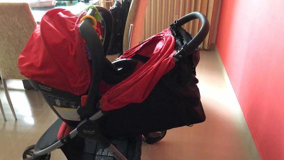 Conjunto Britax Carrinho Com Bebê Conforto + Base Para Carro
