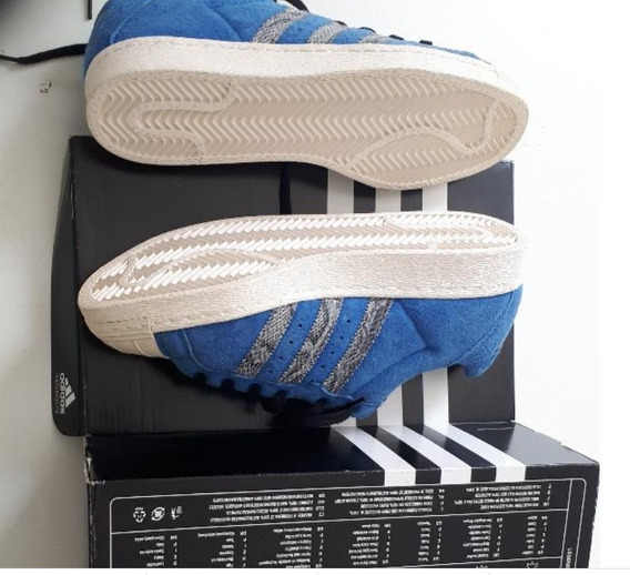 Tênis adidas Superstar Run Dmc Blue
