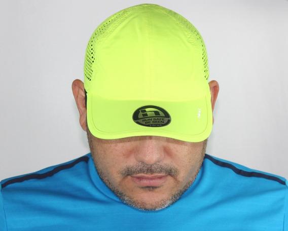 Gorra Sport Marca Hind Perforada Caballero Ventilación Ajustable