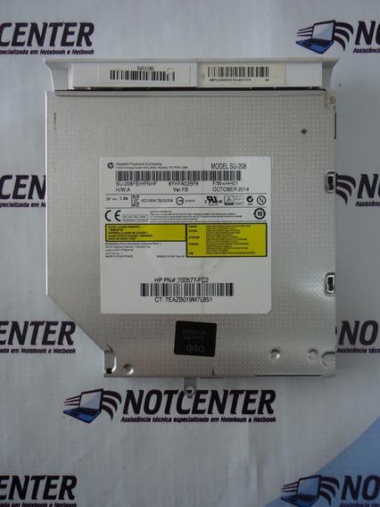 Drive Dvd Slim Notebook Hp Pavilion 14 V065br Model Su 208