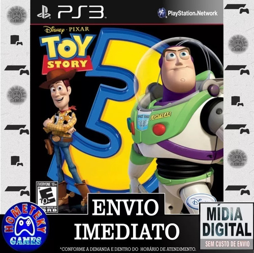 Toy Story 3 The Video Game Psn Ps3